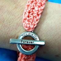 Forever Bracelet - Free Crochet Pattern