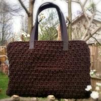 Chocolate Tote - Free Crochet Pattern