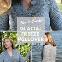 Glacial Freeze Pullover - Free Crochet Pattern