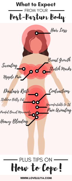 What to Expect from Your Past-Partum Body