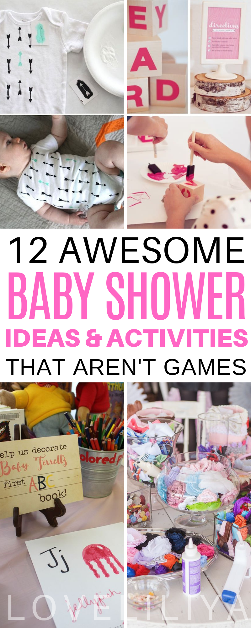 12 AWESOME BABY SHOWER IDEAS