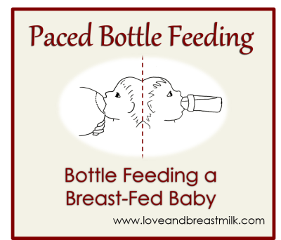 Paced-bottle-feeding