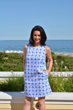 Beach Coin Periwinkle, Catalina Dress