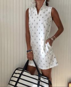 Demi Anchor, Polo Dress