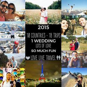 Rétrospective de nos voyages 2015