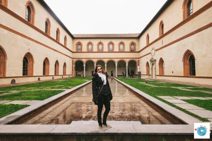 Château des Sforza castello Sforzesco Milan Blog voyage LoveLiveTravel