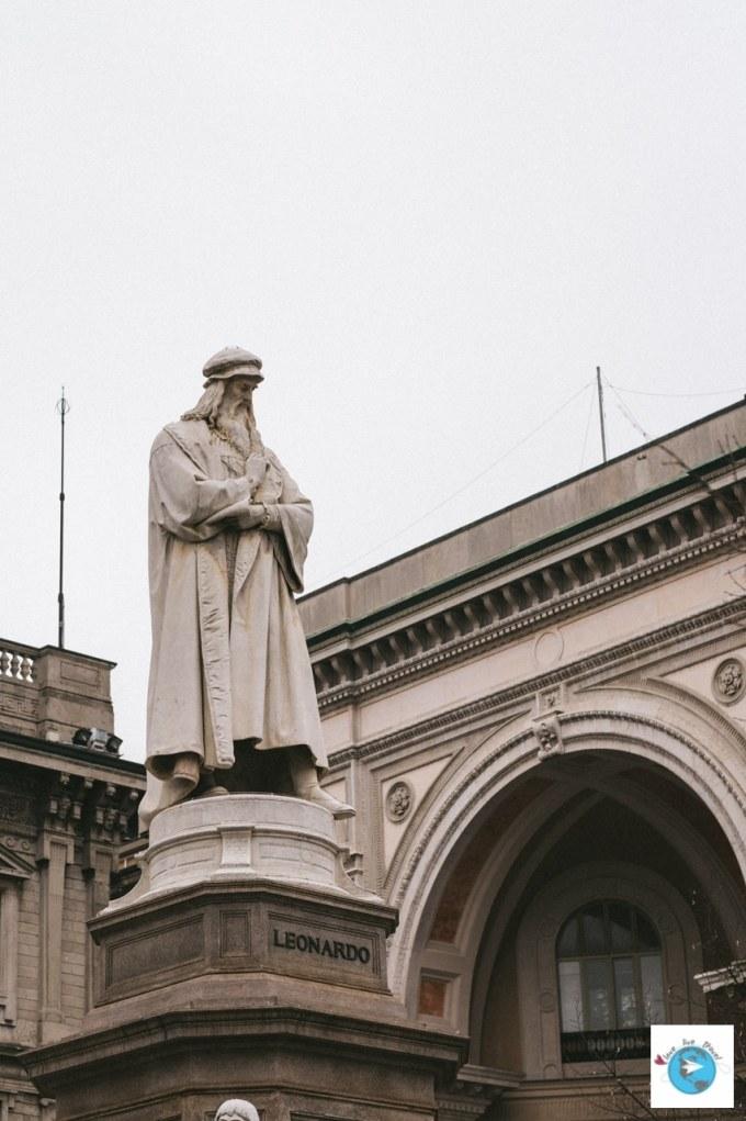 Léonard de Vinci Galerie Victor Emmanuel II Milan Blog voyage LoveLiveTravel