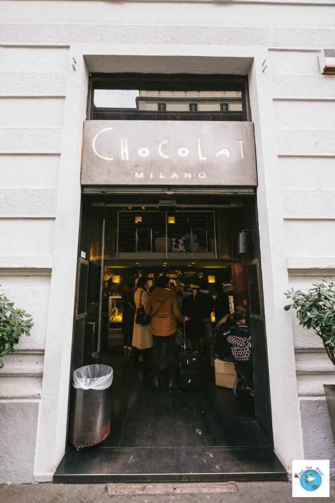 Chocolat Milan Blog voyage LoveLiveTravel