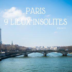 9 lieux complètement insolites à Paris