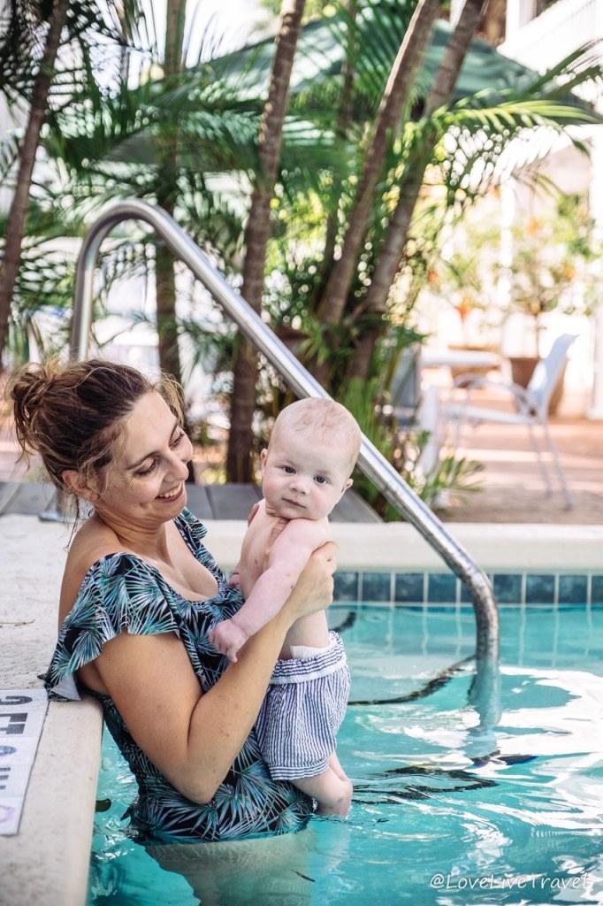 voyager avec un bébé blog voyage lovelivetravel floride USA