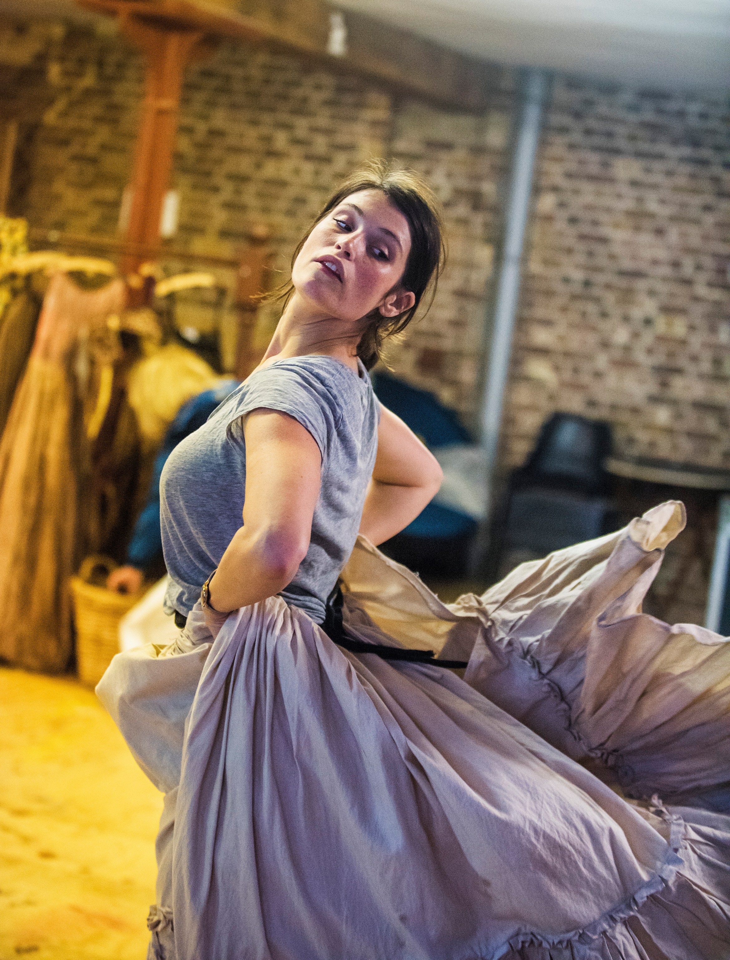 Gemma Arterton (Nell Gwynn) in Nell Gwynn. Photos by Tristram Kenton. (4).jpg