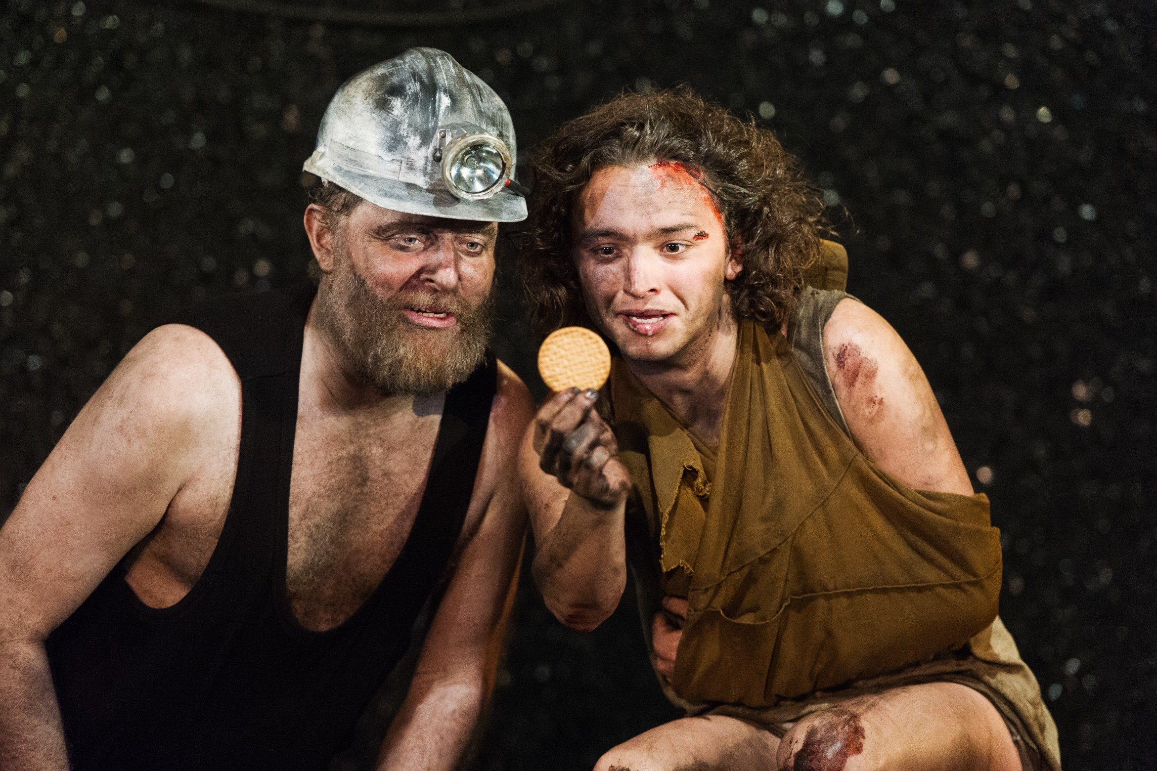 Land of Our Fathers, Chopper and Chewy played by Cornelius Booth and Taylor Jay-Davies. Photo by Polly Thomas.jpg