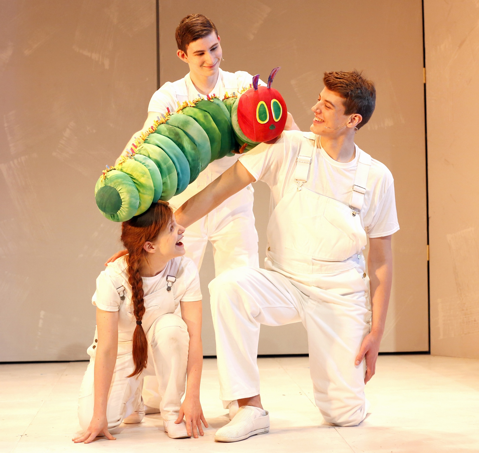 The Very Hungry Caterpillar - The 2016 New York cast. Photo by Carol Rosegg.