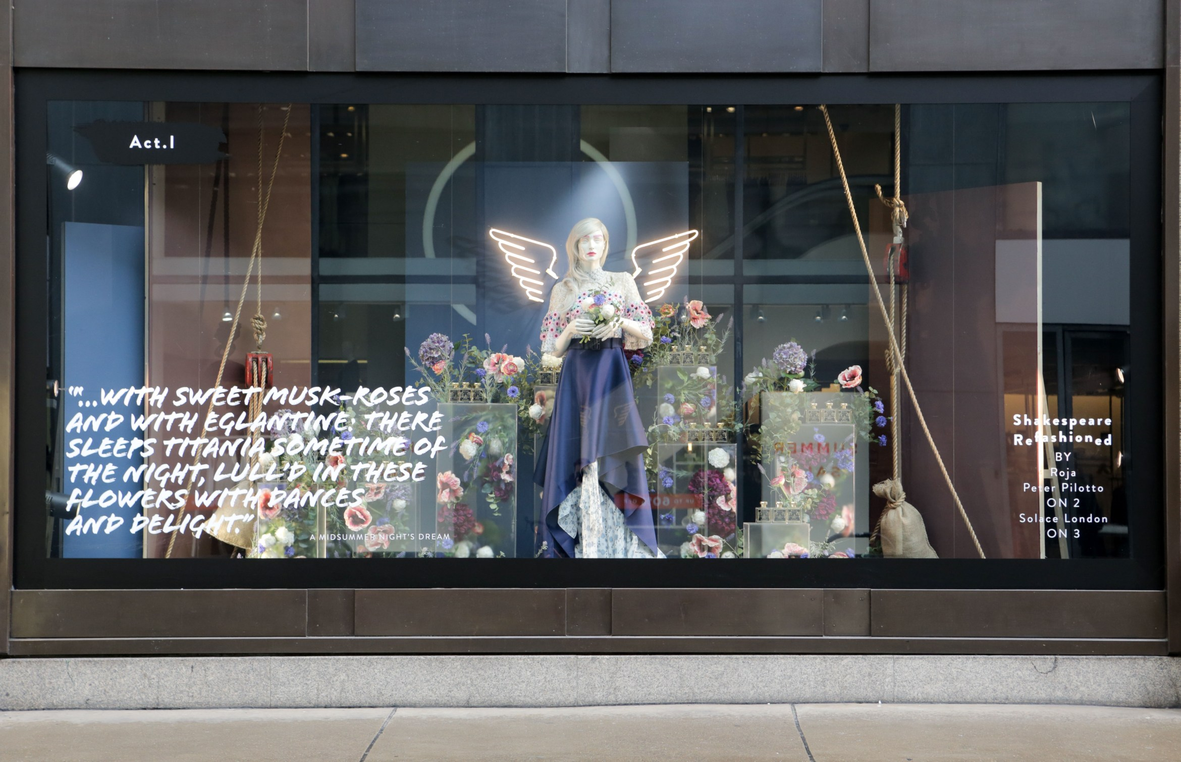 Selfridges launches Shakespeare ReFASHIONed, A Midsummer Night's Dream wi....jpg
