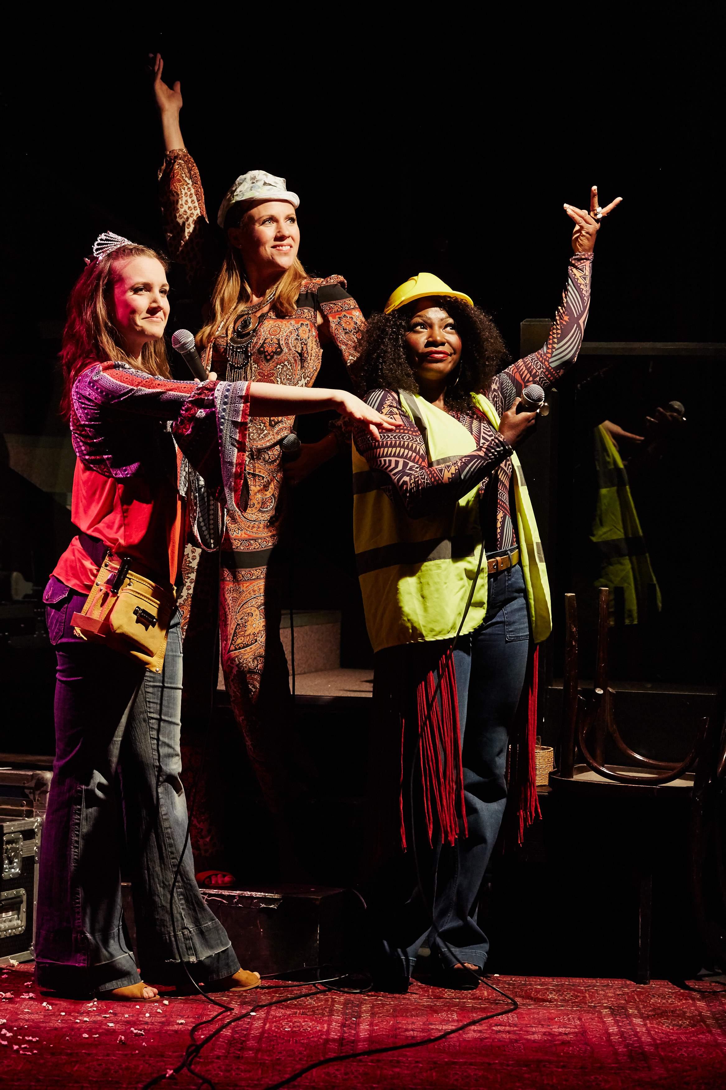 I'm Getting My Act Together, Jermyn Street Theatre, Kristen Gaetz, Rosanna Hyland and Landi Oshinowo, © Richard Lakos.jpg