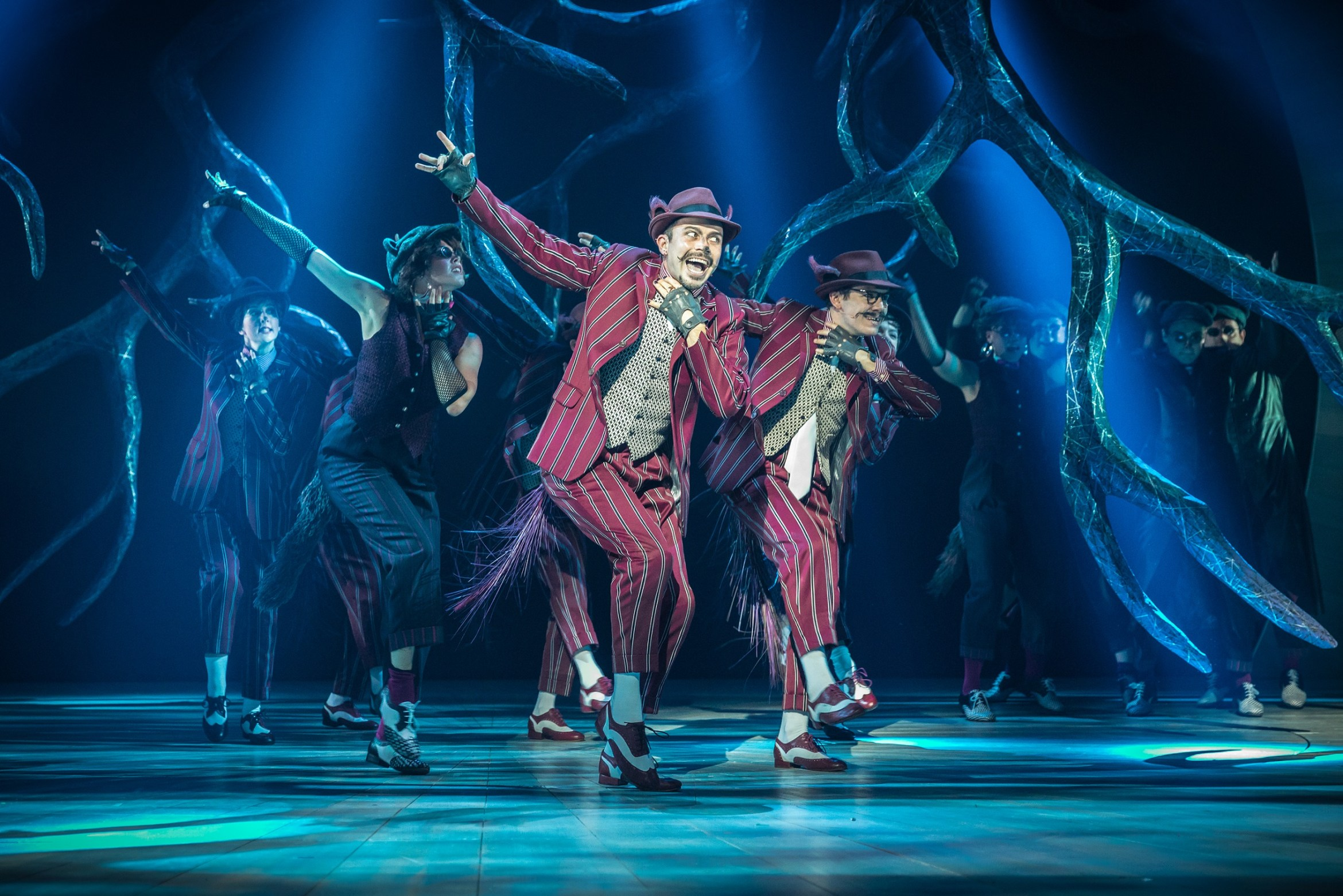 Neil McDermott and the company of The Wind in the Willows. Photo by Marc Brenner. Copyright Jamie Hendry Productions.jpg.jpg