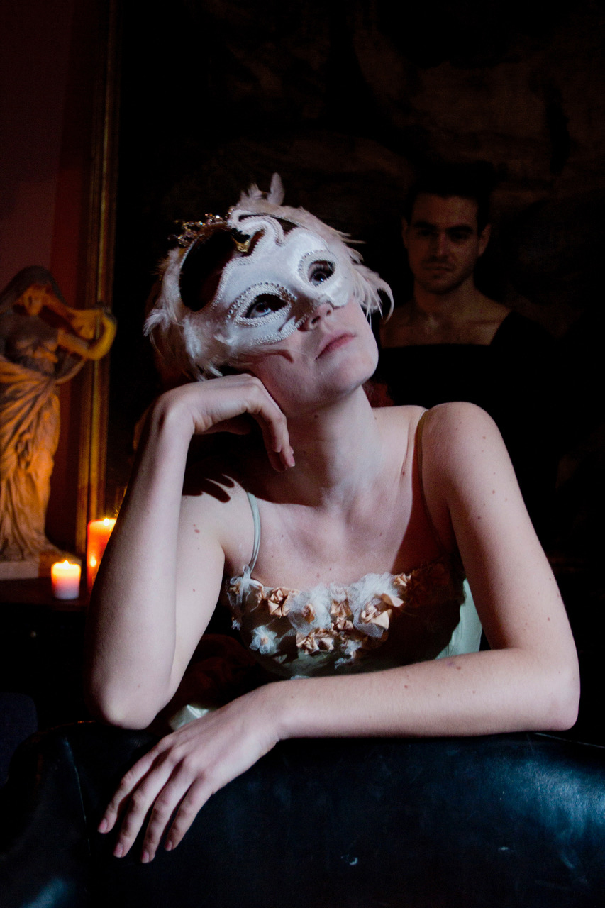SALOME 1  Salome with mask (Denise Moreno) PHOTO BY YIANNIS KATSARIS.jpg