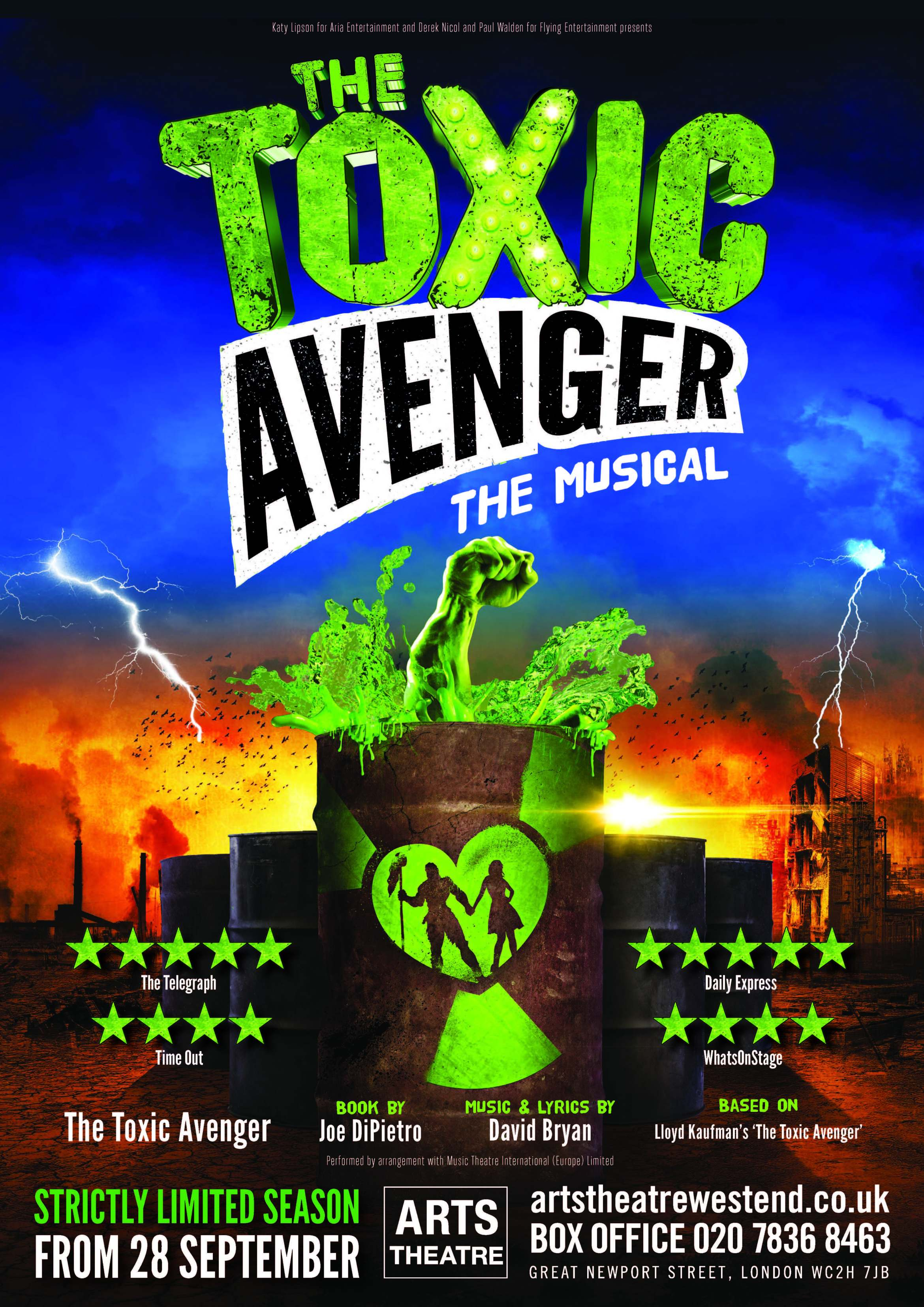 NEWS: The Toxic Avenger to Return to London – Love London Love Culture