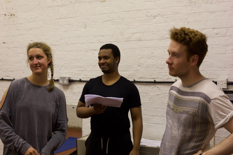 The Enchanted (Georgina Morton, Corey Montague-Sholay and Liam Harkins) - courtesy of Jesse Jeune