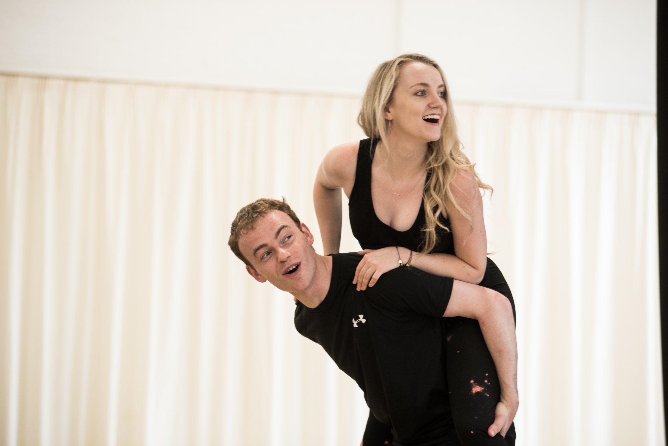 Disco Pigs - Colin Campbell and Evanna Lynch - photos by Savannah Photographic 1