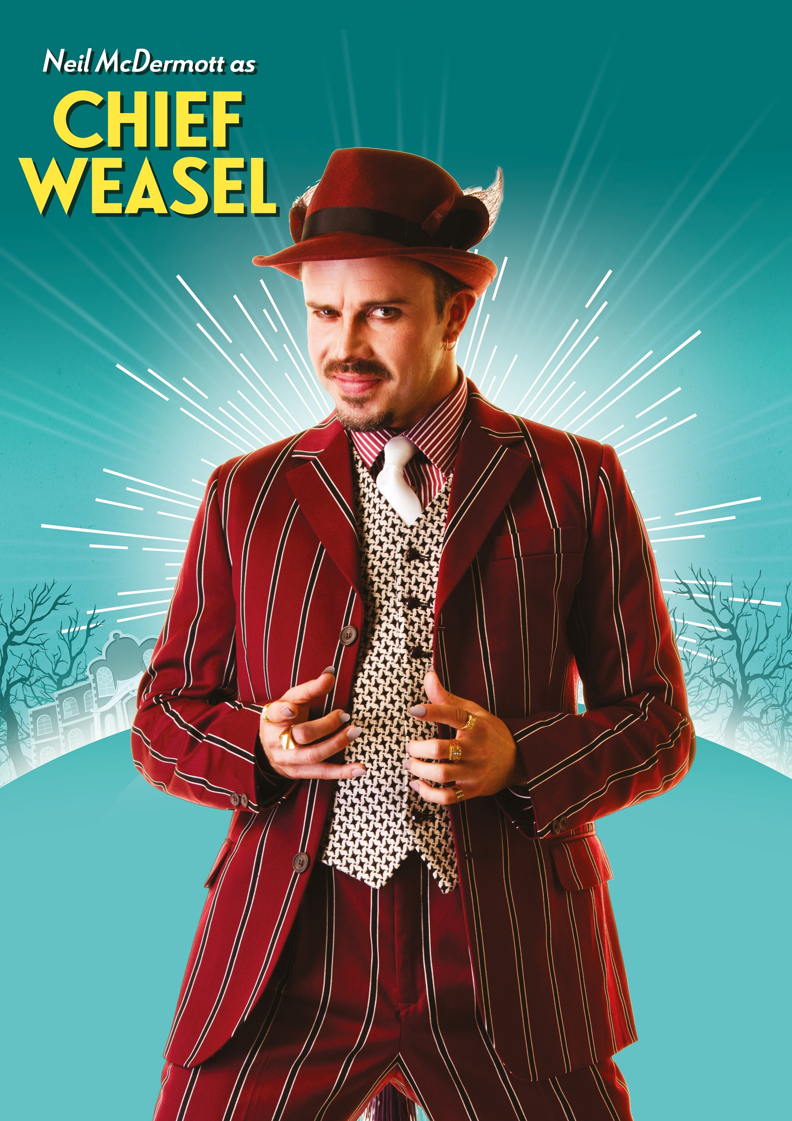 Neil McDermott as Chief Weasel in The Wind in the Willows Credit Darren Bell.jpg
