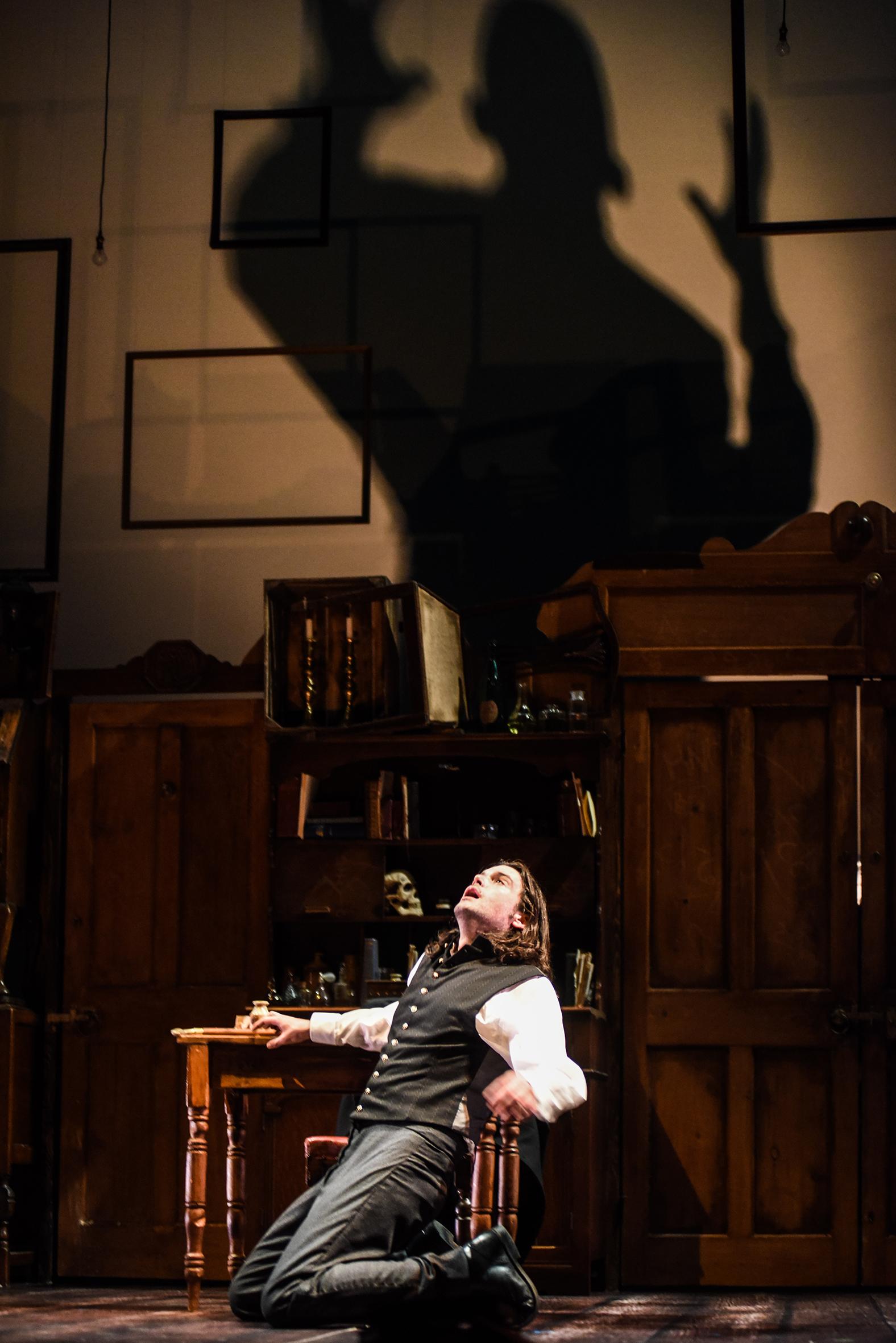 Jack Bannell in The Strange Case of Dr Jekyll & Mr Hyde, credit Alex Harvey-Brown.