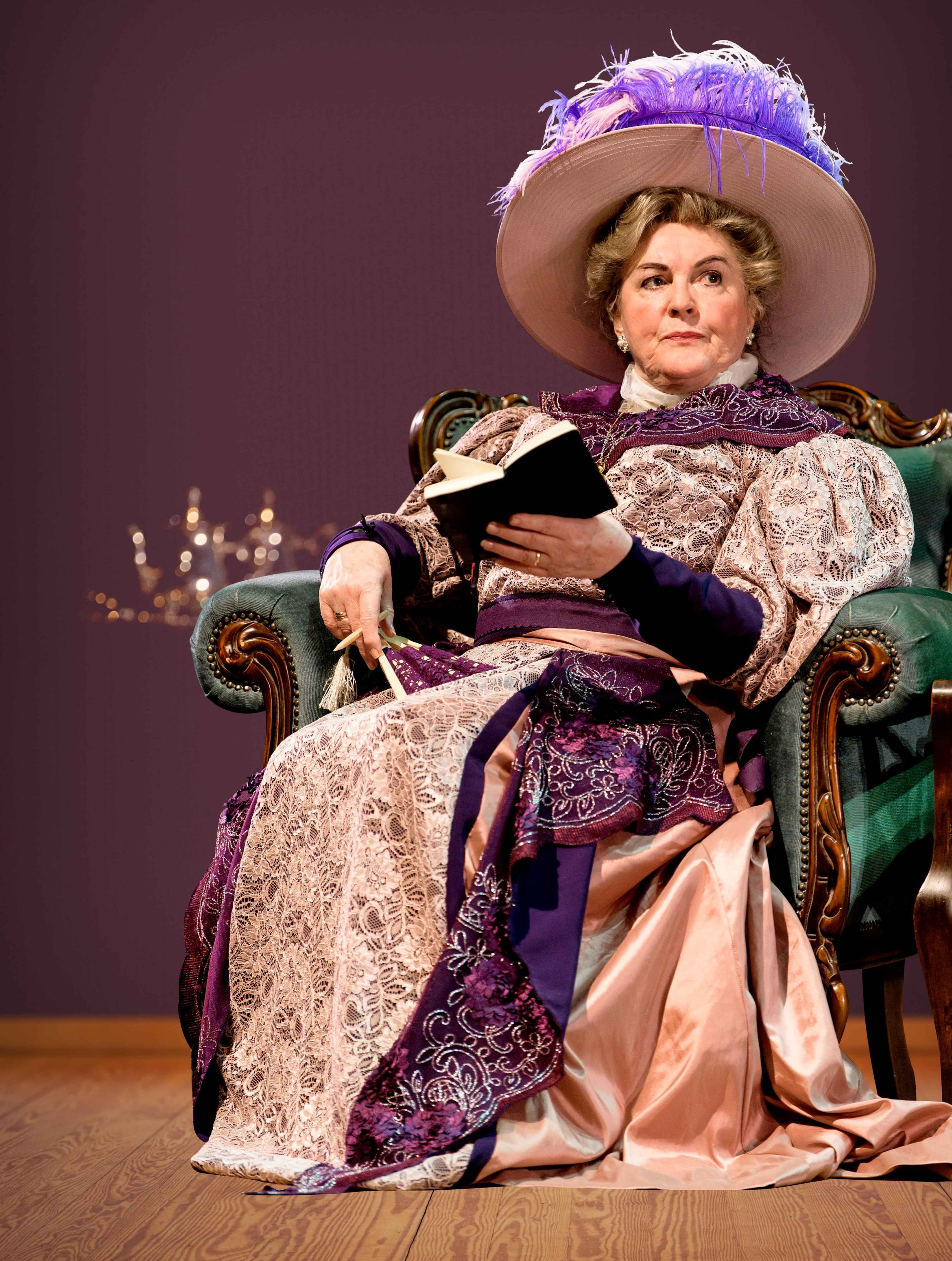 Gwen Taylor as Lady Bracknell in The Importance of Being Earnest%2c credit Manuel Harlan.jpg