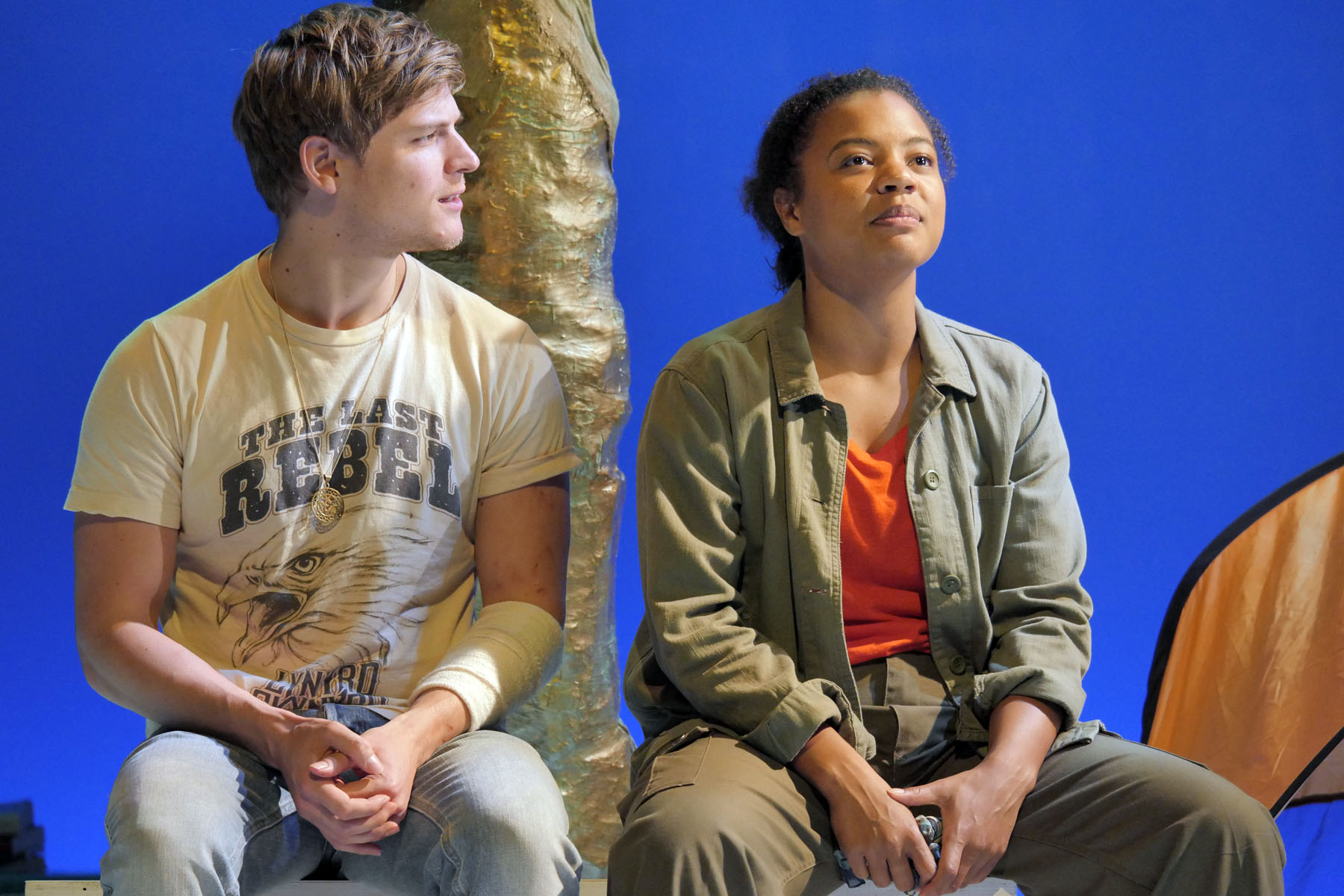 As You Like It at Theatre By The Lake. Nathan Hamilton (Orlando) and Jessica Hayles (Rosalind). Photo credit Keith Pattison (3).jpg