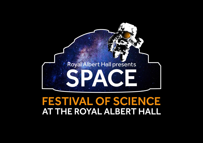 Royal Albert Hall Festival of Science: Space Festival branding, 2018