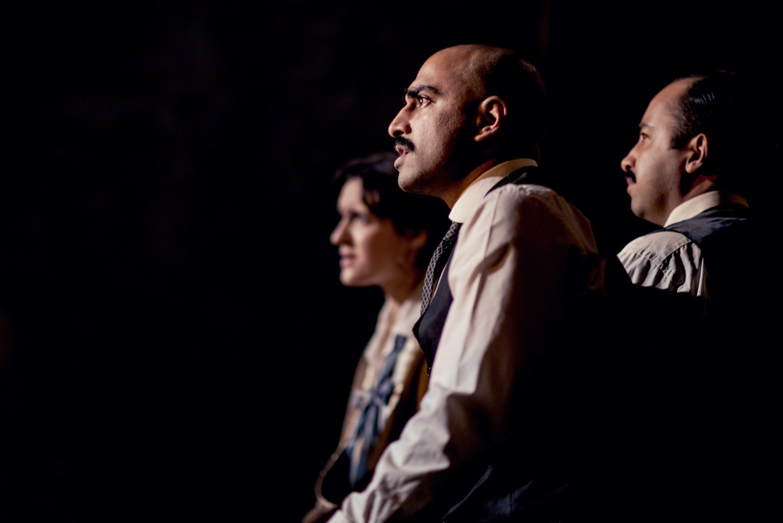 A Passage To India - Pboebe Pryce (Adela), Tibu Fortes (Hamidullah), Asif Khan (Aziz). Photo by Idil Sukan.jpg