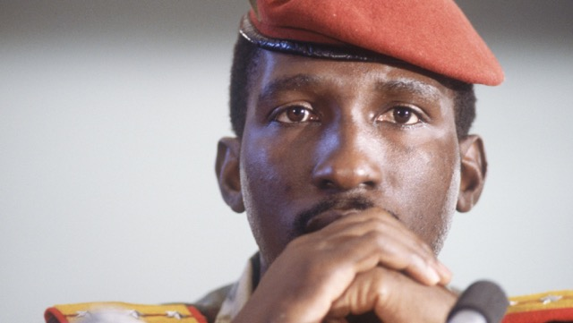 Thomas Sankara. President & Hero of Burkino Faso