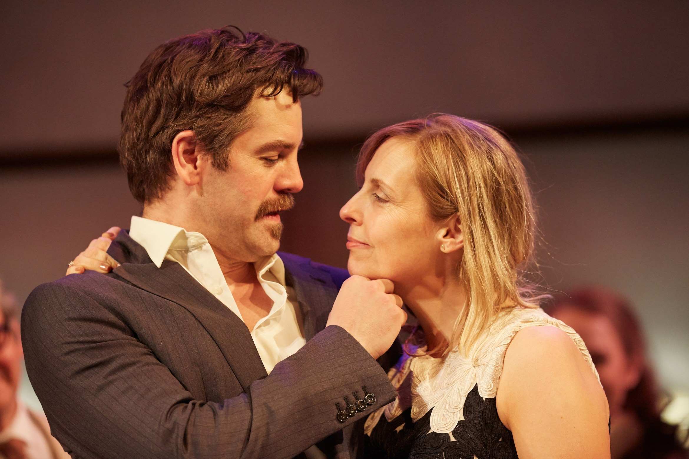 Much Ado About Nothing. John Hopkins (Benedick) & Mel Giedroyc (Beatrice). C - Mark Douet