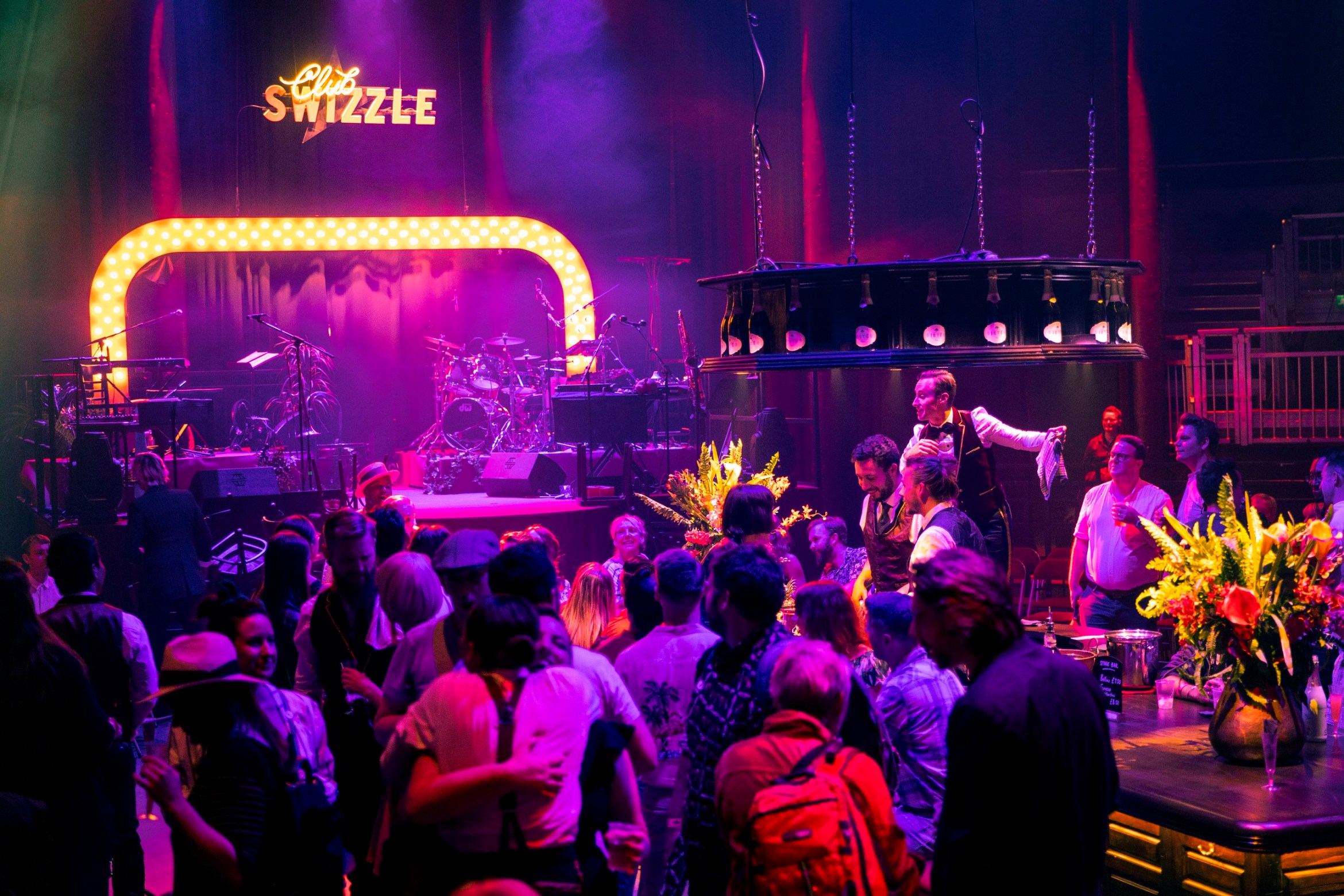 Club Swizzle at Roundhouse. Camden, London. Photograph by David Levene. 1/8/18