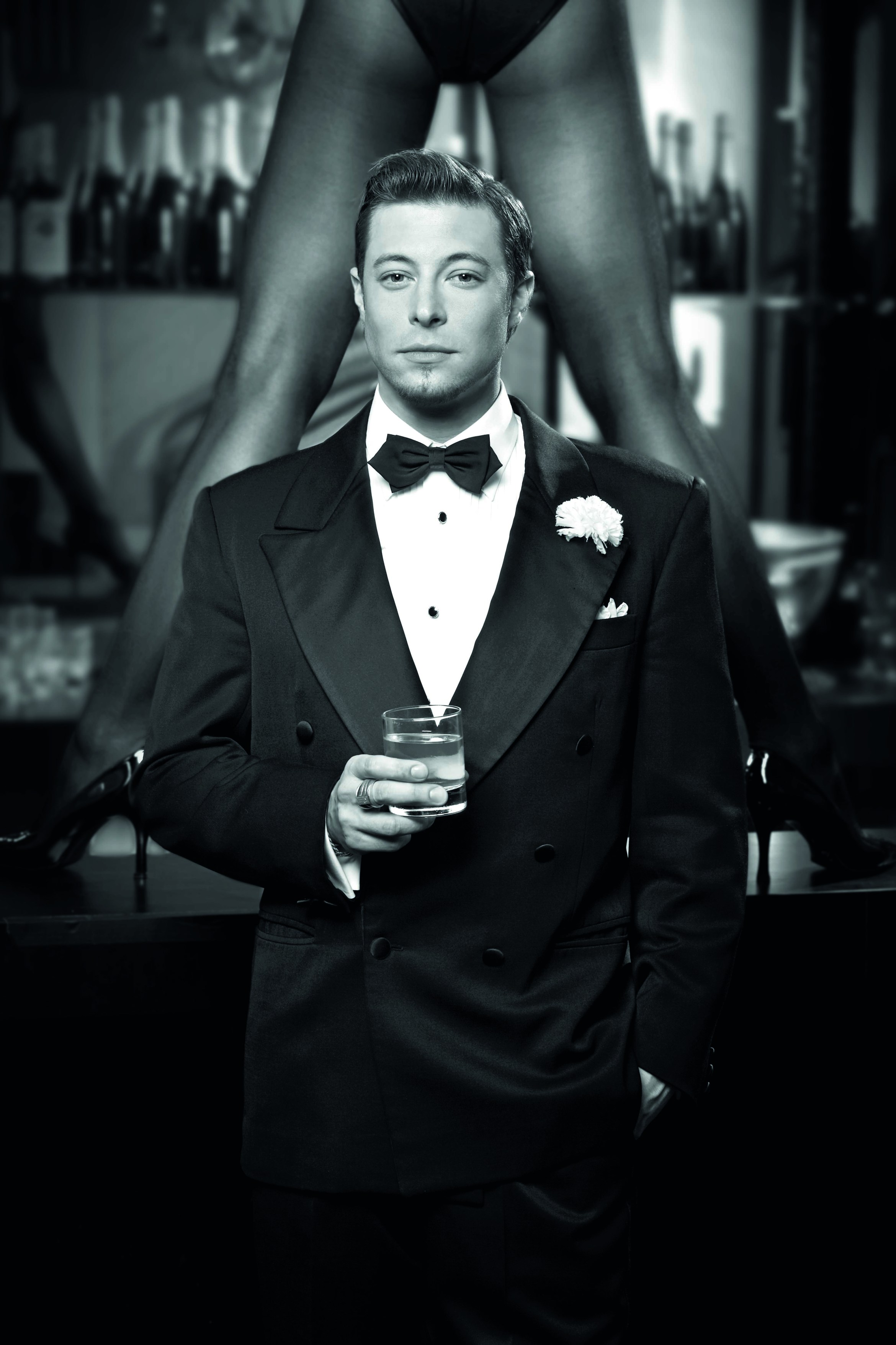 Duncan James as Billy Flynn in Chicago%2c credit Simon Turtle.jpg