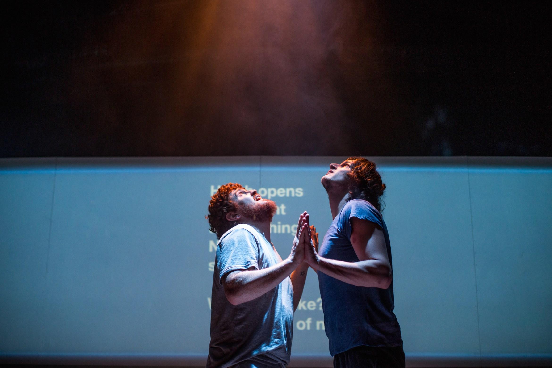 4.48 Psychosis. Adam Bassett & Brian Duffy. Credit - Becky Bailey.