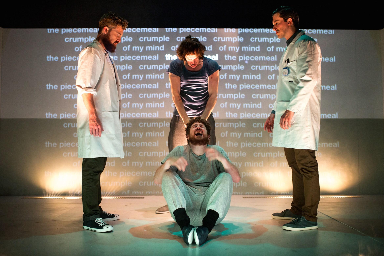 4.48 Psychosis. Jim Fish, Brian Duffy, Matt Kyle & Adam Bassett. Credit - Becky Bailey.