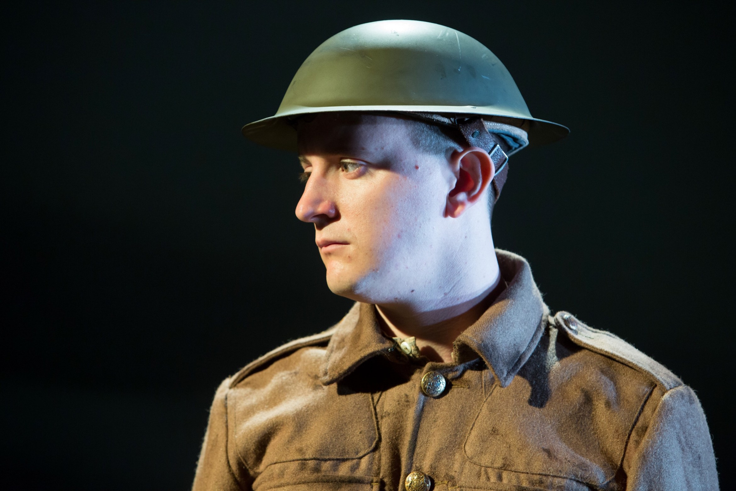 Private Peaceful Birmingham Rep (Andy Daniel) - courtesy of Jonathan Ke...