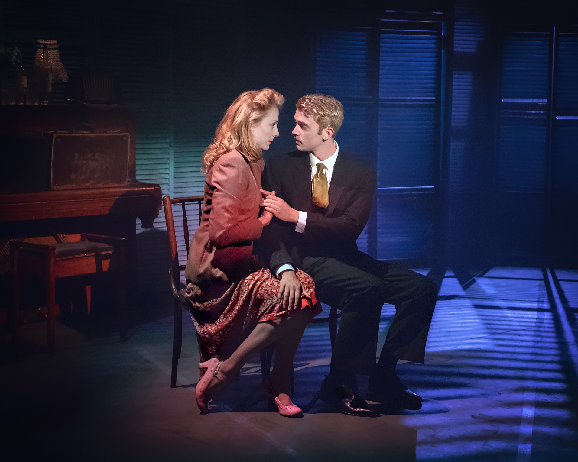 Kelly Price as Rose & Felix Mosse as Alex in ASPECTS OF LOVE
