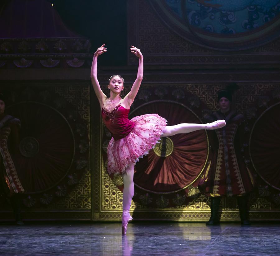 Minju Kang as the Sugarplum Fairy in The Nutcracker. Photo Emma Kauldhar (2)