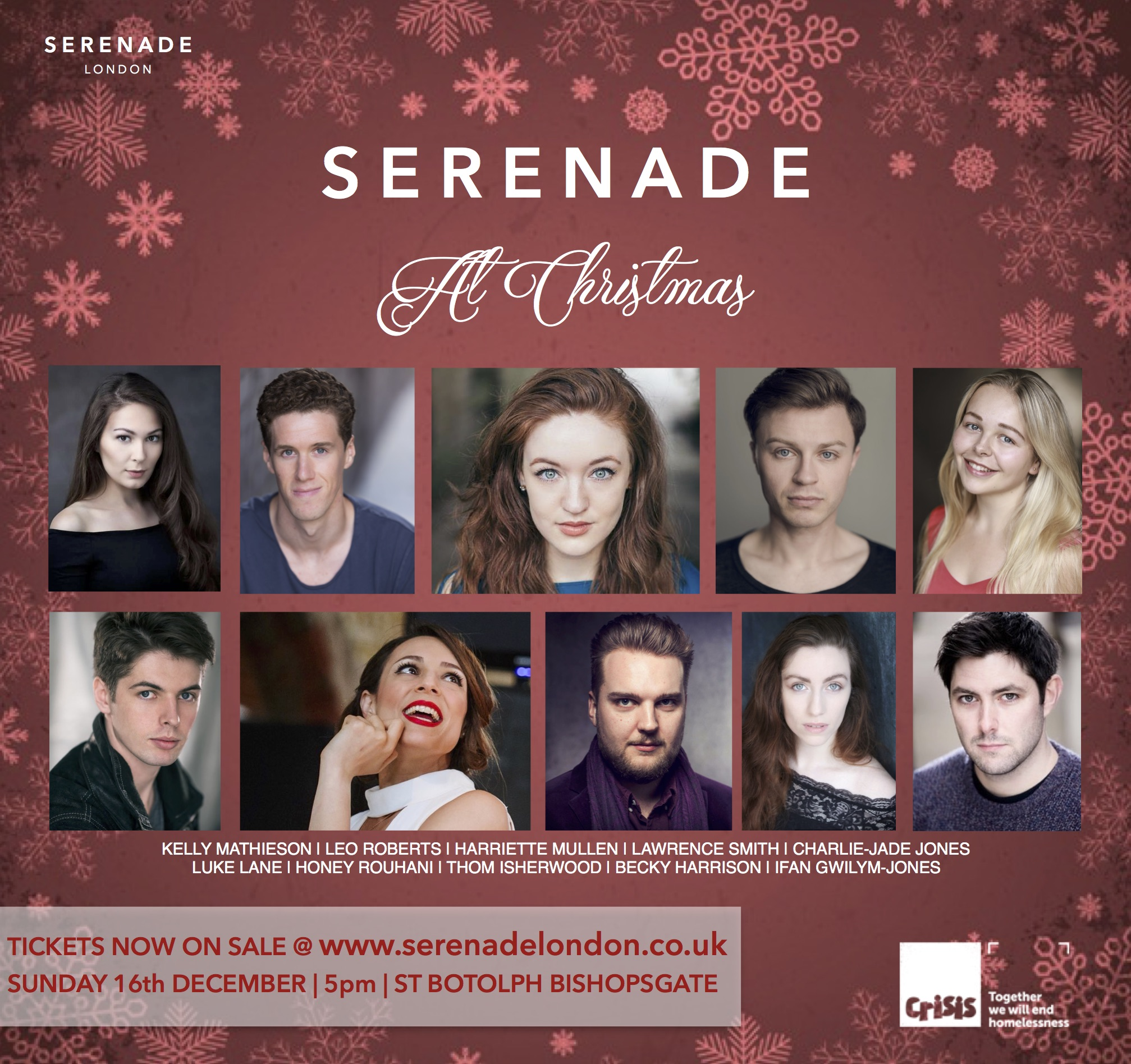 Serenade At Christmas Announcement