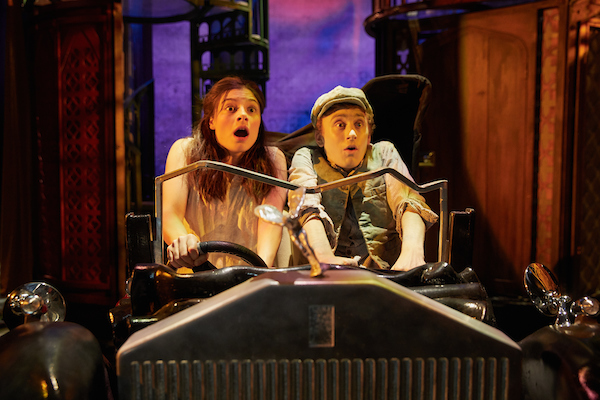 Georgina Leonidas (Stella) Ashley Cousins (Soot). Credit Mark Douet