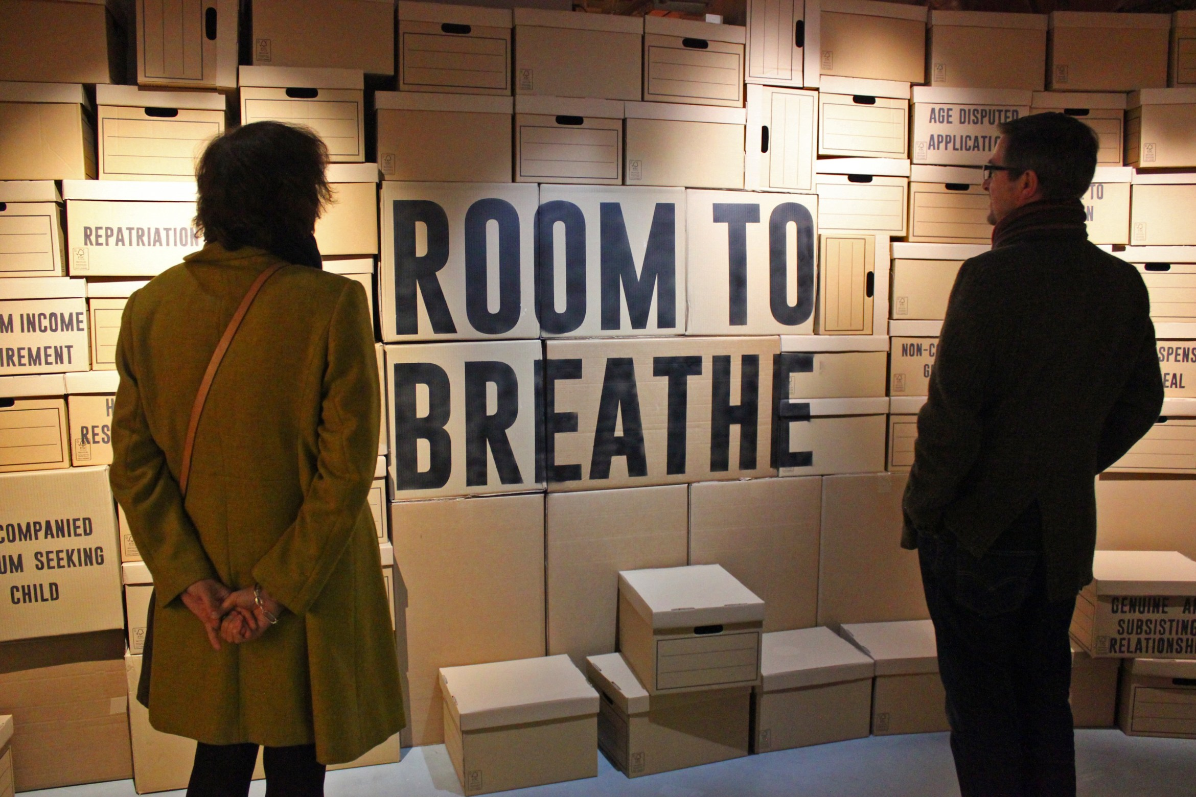 Room to Breathe at the Migration Museum 1 (© Migration MuseumPoppy Williams