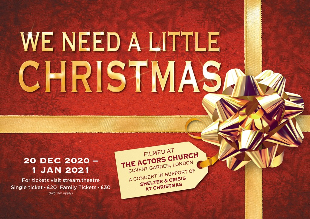 News Stars To Come Together For We Need A Little Christmas Love London Love Culture