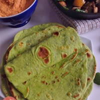 Soft Spinach Tortilla