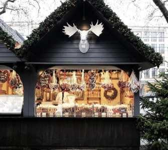Mercadillos navideños de cuento. Cabañitas