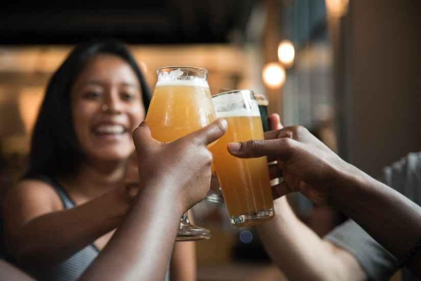 alcoholic beverage bar beer beverage