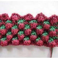 WOW! Amazing raspberry crochet stitch