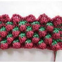 WOW! Amazing raspberry crochet stitch