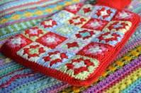 Crochet hot water bottle