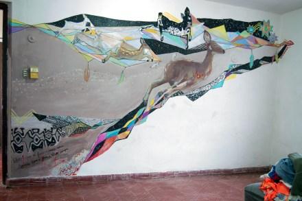 el mural de venados